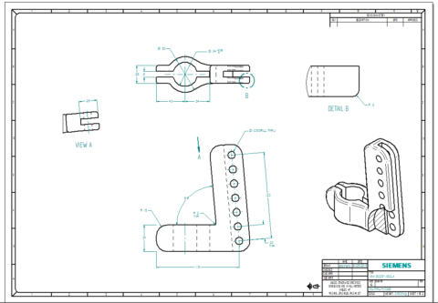 cad drawing cad drafting solid edge. Black Bedroom Furniture Sets. Home Design Ideas