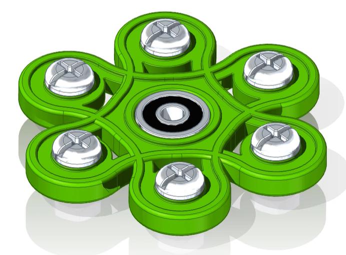 Fidget Spinner Design in Solid Edge