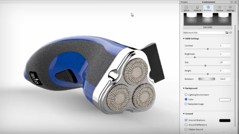 3D Rendering and Visualization of CAD Models