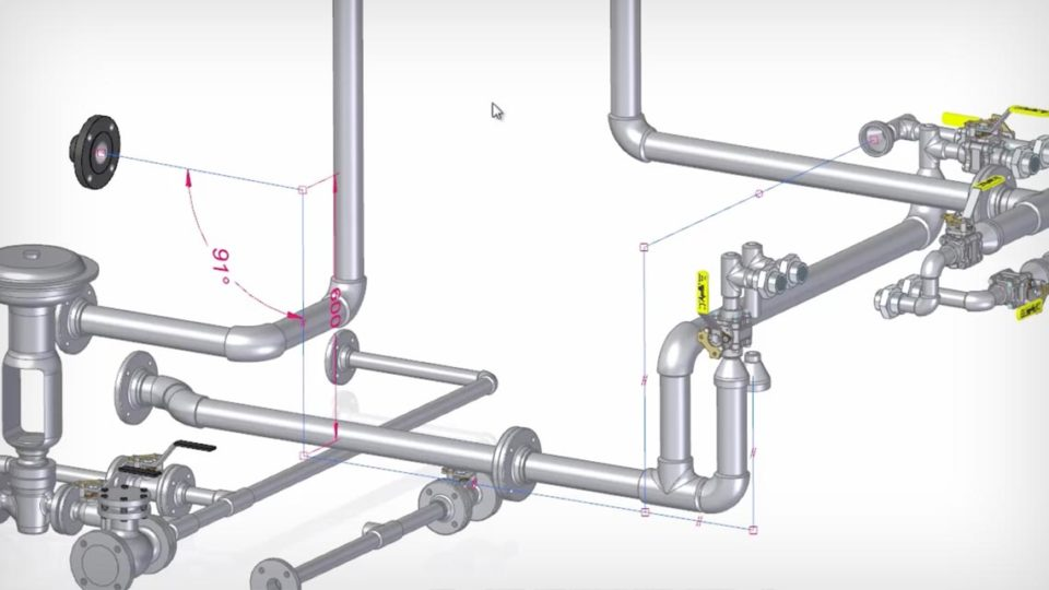Pipe and Tube Routing