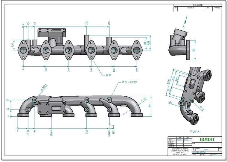 When it comes to establishing the requirements for parts when manufactured, the technical drawing still reigns supreme.