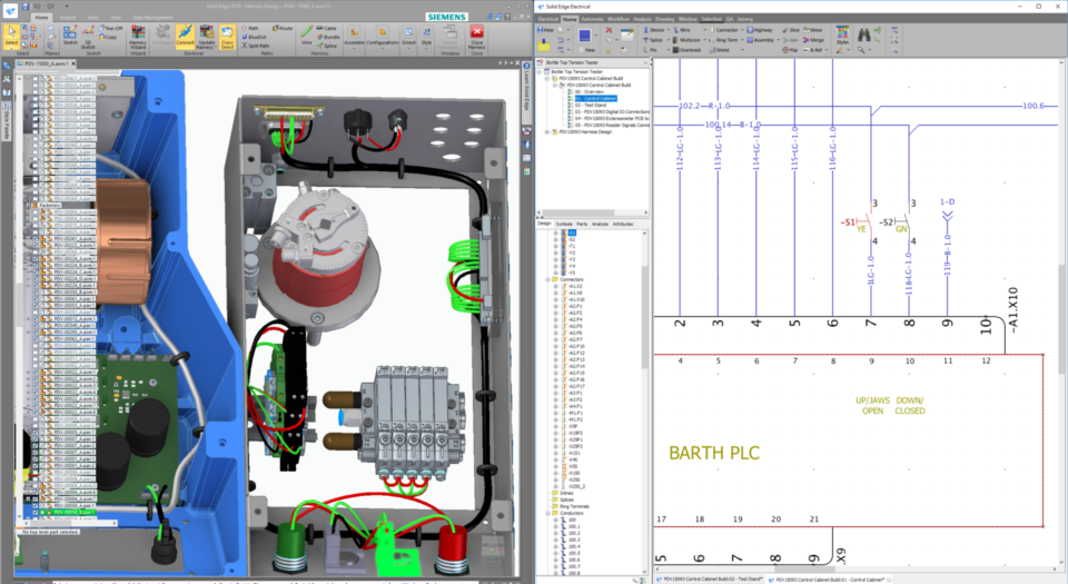 wiring harness design to optimize overall product | solid edge  solid edge - siemens