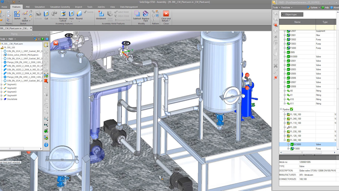 P&ID and Piping Design