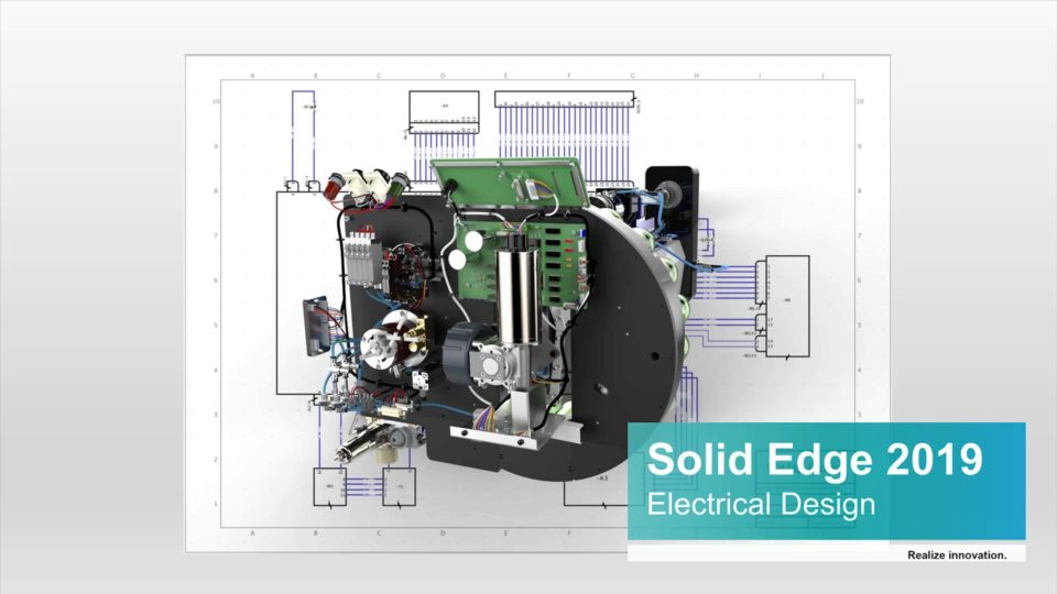 Electrical Design in Solid Edge 2019