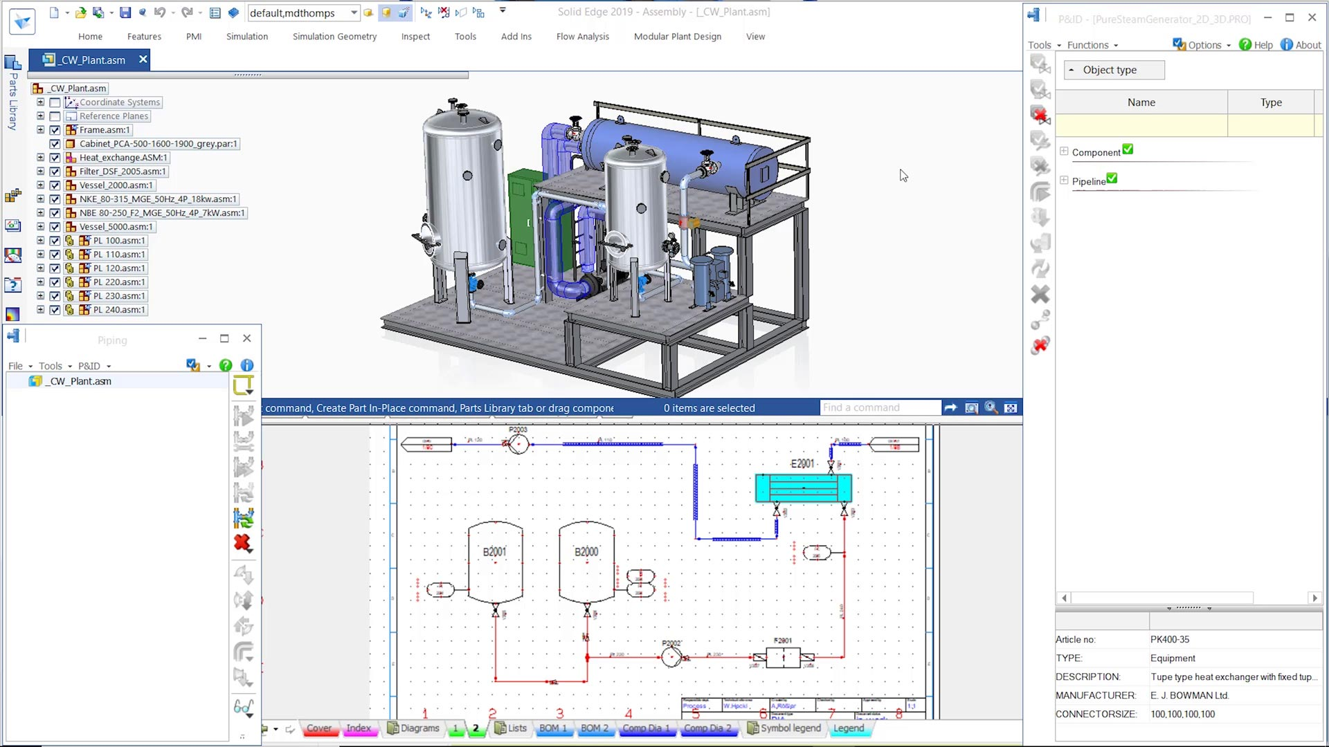 P Id Piping Design Models Solid Edge
