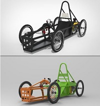 Greenpower F24 kit-car (split-chassis)