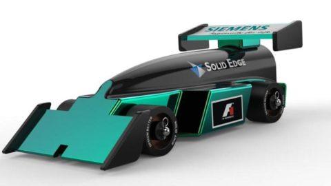 Design A F1 Racecar Model Solid Edge