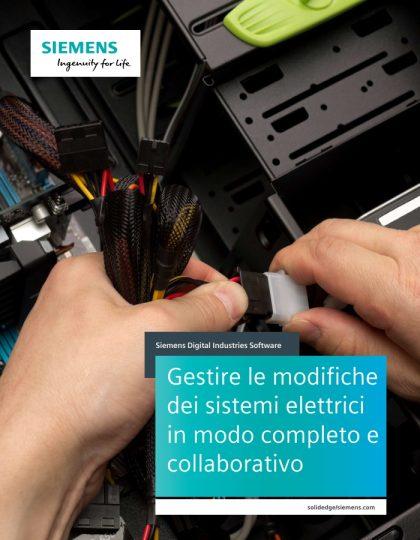 Gestire le modifiche  dei sistemi elettrici  in modo completo e  collaborativo