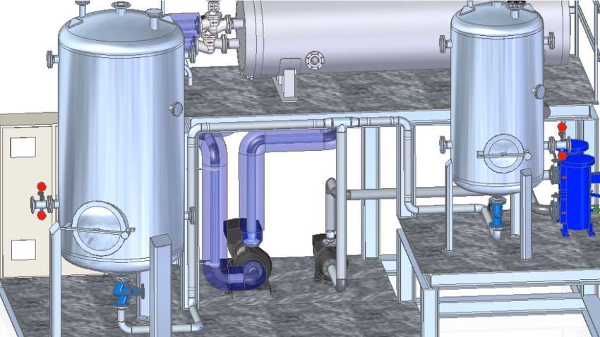 Modular process plant design