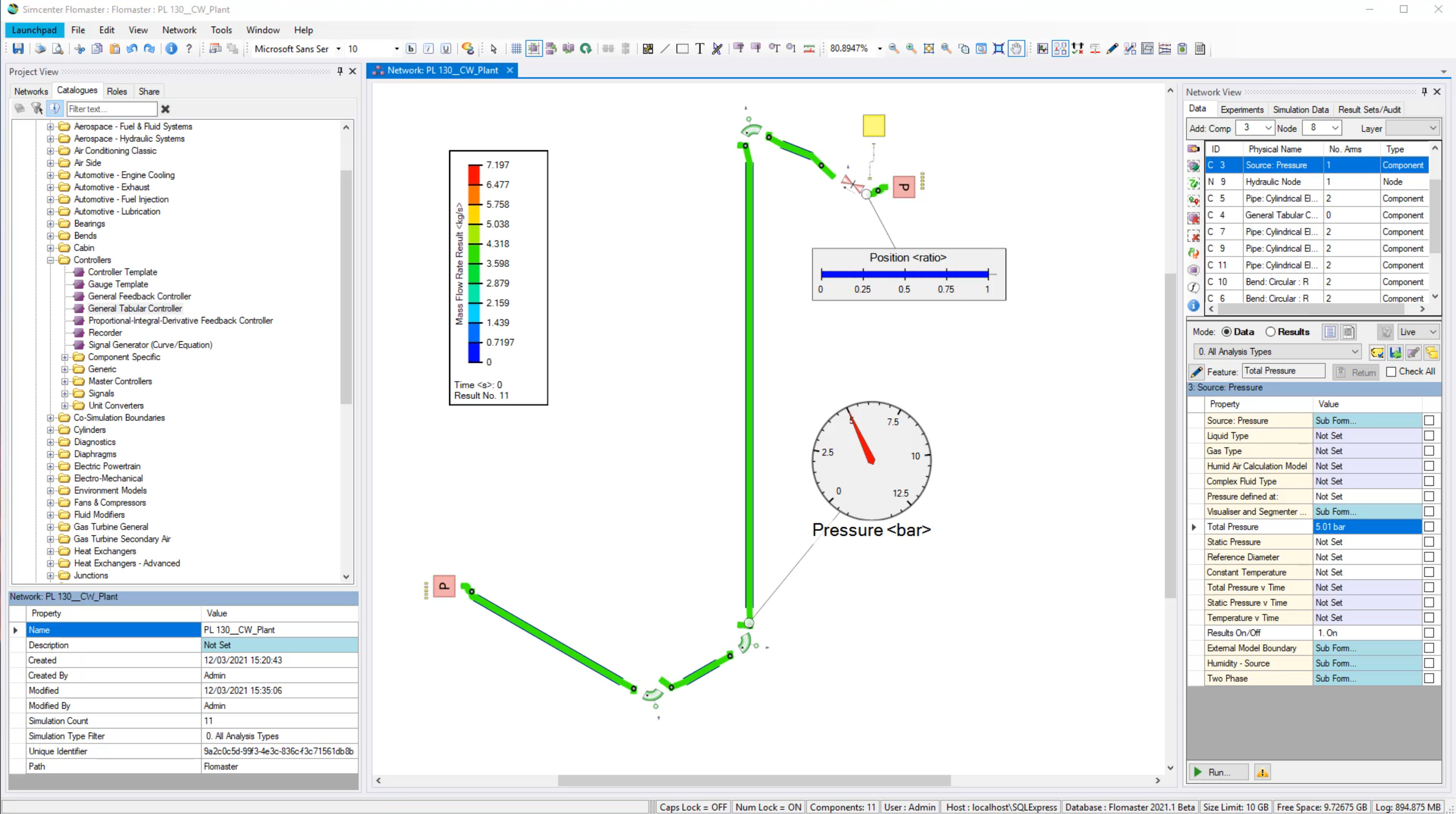 SImcenter Flomaster for Solid Edge 1D environment
